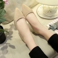 Promo Flatshoes/Balet Polos - Hitam, 36 Termurah