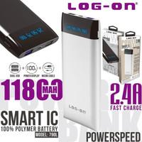 POWERBANK LOGON 11800 MAH POWERSPEED 790L - WHITE