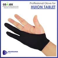 Sarung Tangan Artist Professional Drawing Pen Tablet Huion Wacom Glove