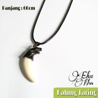 kalung taring tali