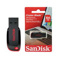 MEMORY CARD FLASH DISK 64 GB SANDISK CRUZER BLADE