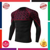 Ter Pria Running Olahraga Kemeja Gym Kebugaran Jogging T Shirt