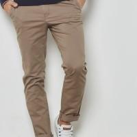 Celana Chino Pria Celana Panjang Pria PREMIUM QUALITY Dark Khaki
