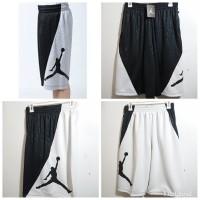 Celana Basket Nike Jordan RISE VERTICAL Hitam Variasi Putih Grade ORI
