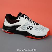 Sepatu Tenis Yonex Power Cushion Eclipsion 2 White Orange Tennis Shoes
