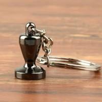 Gantungan Kunci Aksesoris Kopi Barista Keychain Tamper