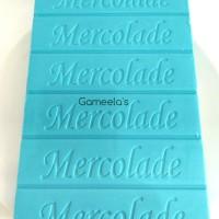 ECERAN CHOCOLATE COKLAT BATANGAN MERCOLADE WARNA RAINBOW ASSORTED