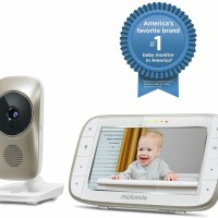 Motorola MBP845 Connect Digital Video Baby Monitor with Wi-Fi 5 Inch