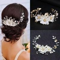 Bride Wedding Hair Accessories AR036 / Headpiece / Aksesoris crystal