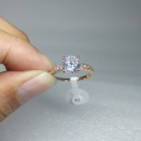 CINCIN XUPING CROWN EMAS GD039