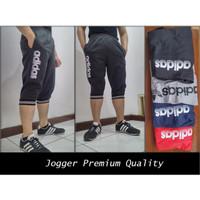 Celana Joger Pendek Premium Pants Training Sport- Jogger 7/8 Dewasa