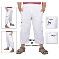 Celana Sirwal Katun Pangsi / Cargo Panjang Casual - STD