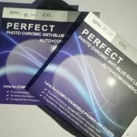 Lensa Photocromic Anti-Blue Ray