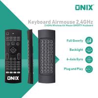 Onix Delta Wireless Keyboard 2.4GHz keyboard Full QWERTY & 6 axis