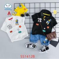 Baju Anak Bayi Laki laki Setelan Celana Import Angkasa