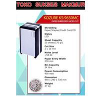 MESIN PENGHANCUR KERTAS KOZURE KS 9650 MC PAPER SHREDDER