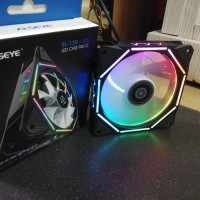 Alseye Pentagon 12cm Fan Casing LED Auto RGB Fan Case Pentagon RGB