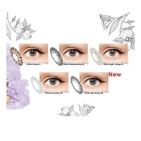 Softlens Ice Silver/ Gold By Exoticon
