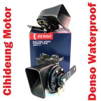 Paket Klakson Keong Denso Waterproof Suara BASS + Relay Klakson MX