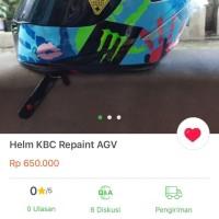 kbc helmet repaint agv