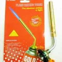 Kepala Alat Las Kuningan Lpg Gas Atau Blow Torch Hi Cook Gun