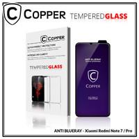 Redmi Note 7 / 7 pro - COPPER Tempered Glass ANTI-BLUERAY (Full Glue)