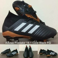 SPESIAL SEPATU BOLA ADIDAS PREDATOR 18 1 CORE BLACK FG