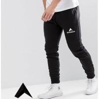 Celana Bawahan Jogger Training Pria | Sweatpants Eiger Hitam Gym