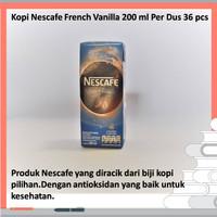 Kopi Nescafe French Vanilla 200 ml Per Dus 36 pcs