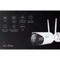 Reolink Security Camera 5MP WiFi CCTV IP Camera Outdoor RLC-411WS