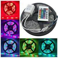 LED strip lamp RGB 3528 ada 300 LED remote lampu hias dekorasi