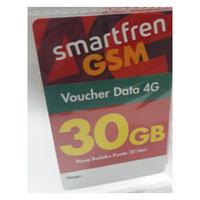 VOUCHER DATA SMARTFREN 30GB 4G Voucer 30 GB