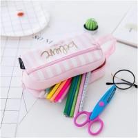 kotak pensil BIG / dompet pensil cute pink edition