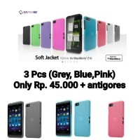 3 Pcs Capdase Xpose Soft Jacket for Blackberry Z10