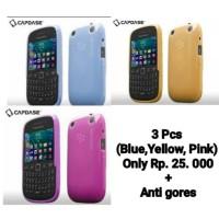 3 Pcs Capdase Lamina Soft Jacket Blackberry Curve 9220 / 9320