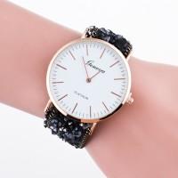 Jam Tangan Import Fashion Wanita Gelang Batu Watch Wanita Berjagajaga