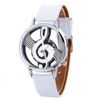 Jam Tangan Import Fashion Catatan Lukisan Gelang Kulit Wanita Clock
