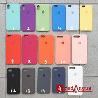 Silicone Cover Soft Case Softcase Casing Iphone XS X IphoneX Original