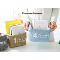 Keranjang Serbaguna Desktop Storage Box Organizer (alat rias / mainan)
