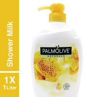 Sabun Mandi Palmolive Milk And Honey Botol Pump 1 liter