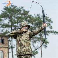 Busur Panah Lipat Recurve Bow Folding 40 - 60 lbs