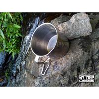 Mug Gelas Cangkir Camping Outdoor Mudik Traveling 300ml