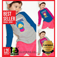 Kaos Muslimah Anak / Kaos Anak Baju Muslim / Kaos Perempuan 8 14 Tahun