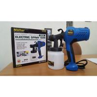 Kompresor Mollar Spray gun listrik ESG 300 - Spray gun plus kompresor