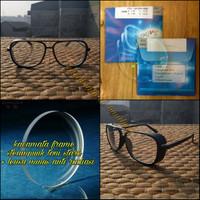 kacamata frame steampunk toni stark + lensa minus
