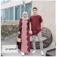 QUMALA COUPLE - BEST SELLER - Gamis Sarimbit - Kemeja Pasangan
