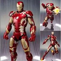 Hot Toys action figure super hero Iron man MK43 Terlaris with box