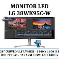 Monitor LG 38WK95C-W Ultrawide IPS Curved LED Monitor WQHD - Resmi