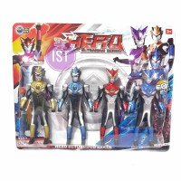 ROBOT ULTRAMAN ISI 4 PCS 888A - ACTION FIGURE