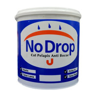 CAT TEMBOK NO DROP WATERPROOF (4 KG) /PELAPIS BOCOR NO DROP 4 KG GALON
